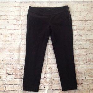 Ann Taylor dressy crop leggings